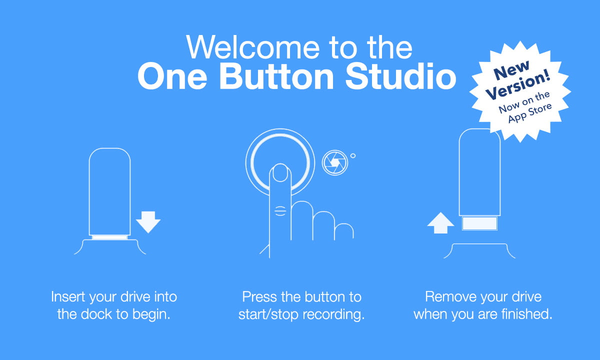 One Button Studio | one button, many possibilities